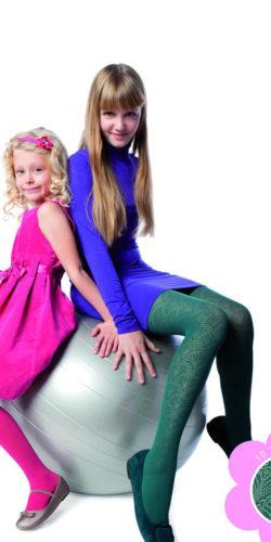 Collant in microfibra bambina 7-10 anni 40 den Luiza
