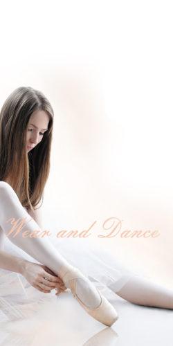 Collant danza ballo bambina ragazza 4-14 anni 50 den Isadora