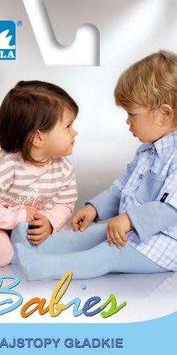 Calzamaglia per neonati in cotone maglia liscia tinta unita