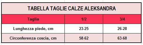 CALZE AUTOREGGENTI CON BALZA RICAMATA AUGUSTINA 40 DEN