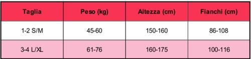 COLLANT BEIGE/NERO MOTIVO STRINGHE ART 356 20/50 DEN