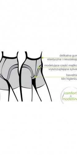 COLLANT MODELLANTE BODY SHAPER VITA ALTA 20 DEN