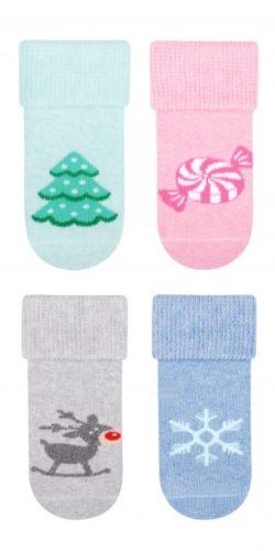 Calzini natalizi in caldo  cotone per bambini
