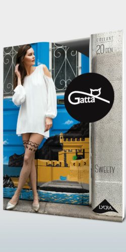 COLLANT DONNA EFFETTO CALZE S POIS SWEETY 16 20 DEN