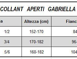 COLLANT APERTO A CAVALLO CON CINTURINO IN PIZZO AMIRA