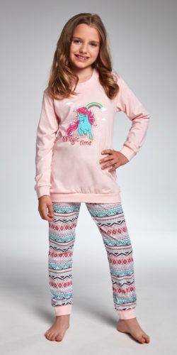 Pigiama bambina cotone manica lunga Unicorno