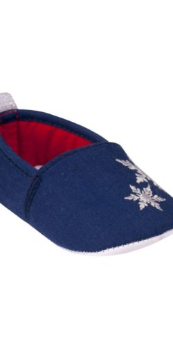 Pantofoline natalizie neonata in cotone 0-12 mesi