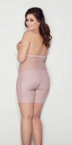 Pantaloncini modellanti Curvy a vita alta con spalline removibili 5XL