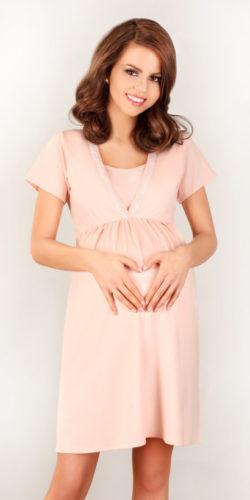 Camicia da notte gravidanza allattamentio in viscosa