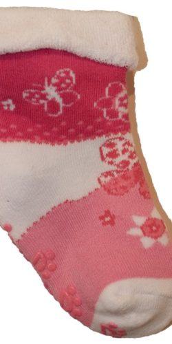 3 paia di calzini antiscivolo in caldo cotone per bambine