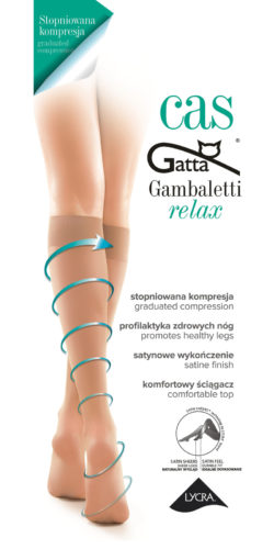 Gambaletti riposanti a compressione graduata Relax