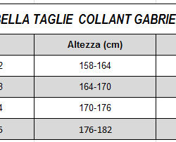 Collant coprente fantasia riga laterale Adele