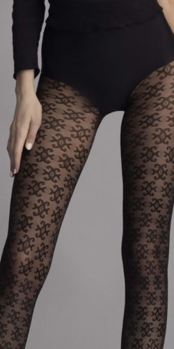 Collant fantasia jacquard 30 den Carrie