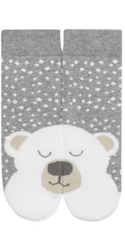 Calzini in caldo cotone disegno orsetto