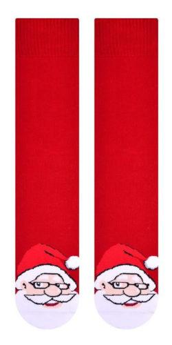 2 paia di calzini natalizi taglie 41-46 in caldo cotone assortiti