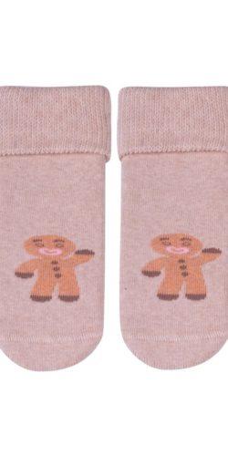 3 paia di calzini natalizi in cotone bambini 0-12 mesi assortiti