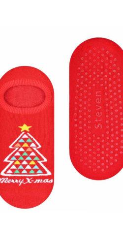 2 paia di calzini natalizi antiscivolo in spugna taglie 35-40