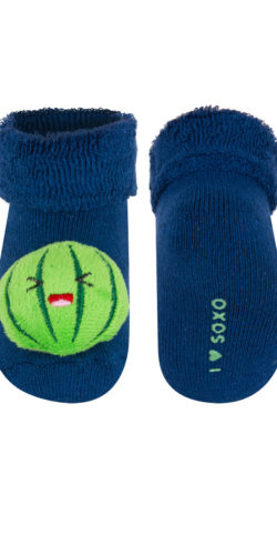 Calzini invernali neonato con sonagli anguria