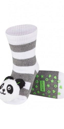 Calzini antiscivolo con sonagli peluche Panda