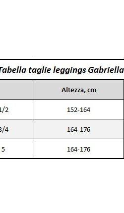 LEGGINGS TERMICI FELPATI IN MICROFIBRA 500 DEN ARCTIC