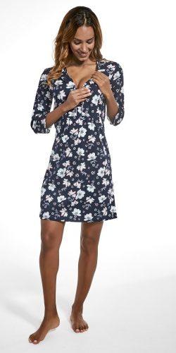 Camicia da notte allattamento maniche 3/4 in cotone Michelle 2