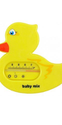Termometro per il bagnetto del neonato senza mercurio paperella