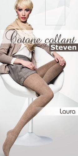 Collant cotone donna colori chiari Laura