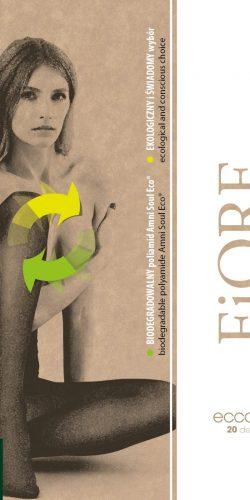 Collant biodegradabile velato 20 den Taglie plus